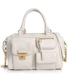 Calvin Klein Handbag, Bedford Leather Satchel - Calvin Klein - Handbags & Accessories - Macy's