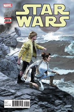 Star Wars A Regular Mike Mayhew Cover VF+/NM+ The Hero of the Rebellion & the Princess of the Revolution!Luke and Leia finally get some time alone.Unfortunately, it's stranded on a desert island. Star Wars Comics, Star Wars 5, Star Wars Comic Books, Marvel Comics Art, Marvel Comic Books, Picsart, Gothic Horror, Star Wars Poster, Lectures