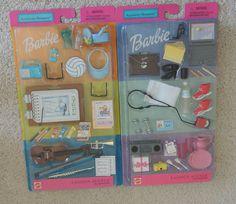 I had the one on the right, I think.  Barbie Fashion Avenue Accessory Bonanza Sets by Mattel