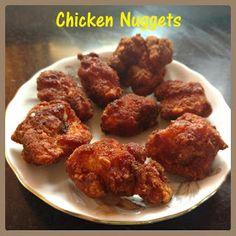 Chinu's Kitchen Corner: Chicken Nuggets