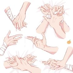 Hand Drawing Reference, Art Reference Poses, Baby Pink Aesthetic, Art Base, Hand Art, Art Challenge, Chinese Art, Webtoon, Anime Guys