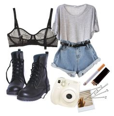 """saturday morning"" by interitus ❤ liked on Polyvore featuring STELLA McCARTNEY, Clu, StyleNanda, Polaroid and BOBBY"