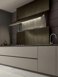 MODULNOVA Blade | Arredo design per tutta la casa Casa Milano, Kitchen Design, Kitchen Ideas, Doors, Mirror, Interior Design, Inspiration, Kitchens, Furniture
