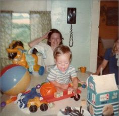 These are pictures that were taken at my nephews 1st birthday party in June of 1977. Two cameras caught the same image on the wall above my Moms head. You can clearly see a ghost face in this picture. This picture was taken in Delphi, Indiana in June of 1977.Submitted by: Sharon B