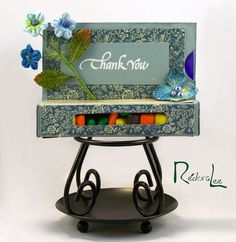 Quietfire Creations: Floral Thank You - Guest Designer Chana Malkah