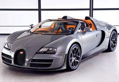 Bugatti Veyron Grand Sport Vitesse 8 litre W16 AWD 2012   Bugatti   Veyron Grand Sport Vitesse price 2 900 000 $  speed  410 kph / 255 mph  0-100 kph 2.6 seconds  Power 1200 bhp / 882 kW  bhp / weight 632  bhp per tonne  Displacement    8  litre /  7993 cc  Weight 1900  kg /  4189  lbs