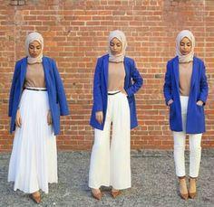 3 styles Pleated skirt ,Palazzo pants, Chinos
