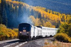 Amtrak's California Zephyr train travels from Chicago to San Francisco. The train passes through Iowa, Nebraska, Colorado, Utah and Nevada before arriving in California. Sounds like an amazing and beautiful trip!