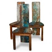Cool reclaimed wood chairs
