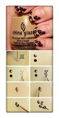 9 Best Easy Nail Art Designs CLICK.TO.SEE.MORE.eldressico.com
