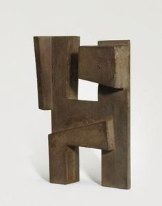 Christie's Rectangular bronze form No. 2