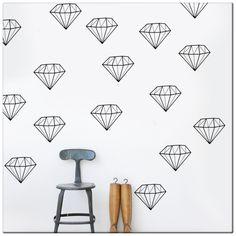 shine bright like a diamond - decoração mode deco