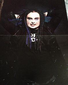 """Mi piace"": 12, commenti: 2 - Jemma Hill ☠ (@rockgothichick89) su Instagram: ""Grrr young Dani Filth  poster ☠️ #cradlroffilth  #poster #singer #sexy #mygothcrush  #danifilth"""