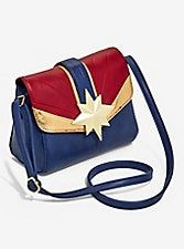 Marvel Captain Marvel Crossbody Bag,