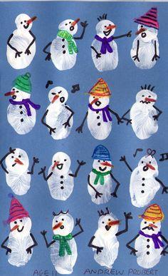 Schneemann 2 - Weihnachten - - New Ideas Winter Art Projects, Winter Crafts For Kids, Winter Fun, Winter Theme, Art For Kids, Handmade Christmas Crafts, Xmas Crafts, Kids Christmas, Christmas Christmas