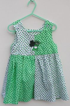 cute shamrock dress