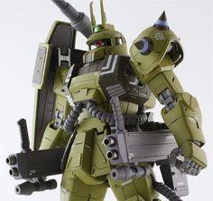 Zaku Cannon (Ian Graydon Custom) - Custom Build - Gundam Kits Collection News and Reviews