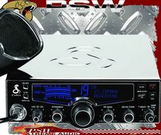 29 LX CHR LE COBRA CB Radio Chrome-Plated with Selectable, 4-color LCD display