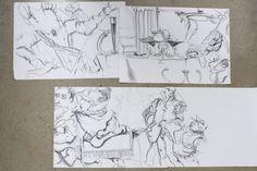 Cleopatra drawings