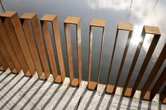 Image result for minimalist deck railings