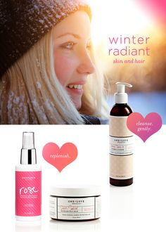 Radiant winter skin