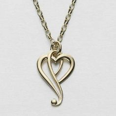 Luckenbooth Heart Pendant by Ola Gorie