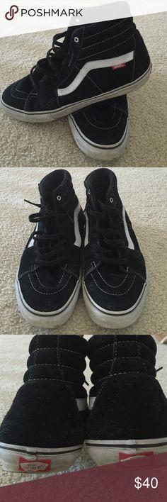 Men's suede GUC high top VANS.  Size 12 Men's suede GUC high top VANS.  Size 12.  Offers welcome. Vans Shoes