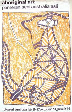 Aboriginal Art - Priyanto Sunarto - 1973