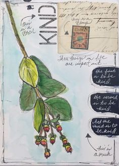 Using Stencils, Masks and Stamps in Art Journaling - Roben-Marie Smith