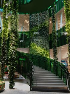 Emporia Mall in Malmö, Sweden - Train Ride to Here is Interesting Biophilic Architecture, Green Architecture, Sustainable Architecture, Landscape Architecture, Landscape Design, Architecture Design, Shopping Mall Interior, Atrium Design, Architecture Concept Drawings