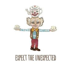 Expect the unexpected. Gift for him. Gift for her. by Goldenpurse on Etsy Gifts For Him, Digital Prints, Give It To Me, Art Prints, Illustration, Artist, Painting, Fictional Characters, Etsy