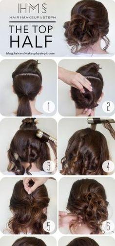 via Best Hairstyle Tutorials For Women http://ift.tt/2iEJqDc