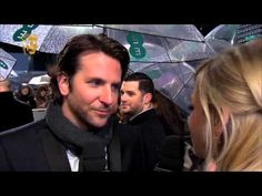 Zoë Ball interviews Bradley Cooper from Silver Linings Playbook on the red carpet at the EE British Academy Film Awards in 2013    (Please note: These videos contains flashing images from the start.)    For more BAFTA Film Awards features and photos from the red carpet go to  http://www.bafta.org/film/awards