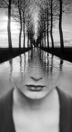 Hypnotic Fusion of Portraits by Antonio Mora - My Modern Met
