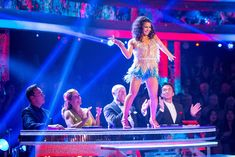 SCD week 5, 2016. Claudia Fragapane & A J Pritchard. Samba. Credit: BBC / Guy Levy