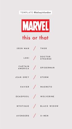 Marvel Universe To Introduce Villain Whose Main Ability Is Disgusting Chewing Sounds Instagram Story Questions, Instagram Story Ideas, Fun Questions To Ask, This Or That Questions, Marvel Instagram, Snapchat Question Game, Black Widow Avengers, Marvel Avengers, Marvel Comics