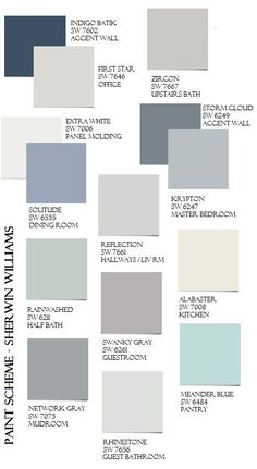 Choosing the right exterior paint colors is an extremely important decision that you will have to make if you are building your own house. Interior Paint Colors, Paint Colors For Home, House Colors, Paint Colours, Interior Design, House Color Schemes Interior, Office Paint Colors, Colors For Living Room, Nautical Paint Colors