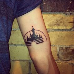 This is my Disney castle tattoo. My entire family is obsessed with Disney, so I got it with my sister. She got the same thing on her left side so it reflects mine. submitted by Jesse Walt Disney Castle, Disney Castle Tattoo, Piercing Tattoo, Piercings, Disneyland, Story Tattoo, Tattoo People, Cool Tats, Disney Tattoos