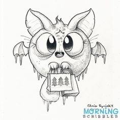 Braving the winter weather for some last minute Christmas shopping! ❄ #morningscribbles #christmas2016