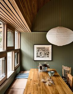 A Rugged Coastal Home By Kennedy Nolan (The Design Files) Timber Panelling, Timber Cladding, Kennedy Nolan, Palette, The Design Files, Australian Homes, Indoor Outdoor Living, Coastal Homes, Coastal Cottage