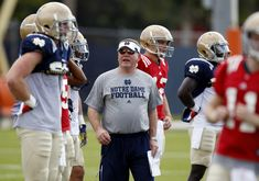 Notre Dame Fighting Irish Image source: http://www.wiseeyesports.com/notre-dame-fall-camp-updates-aug-8th/
