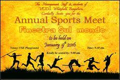 Annual sports Meet – 2016 @ vydehischool.com