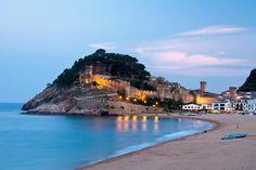 Los pueblos medievales más bonitos de España:  Tossa de Mar