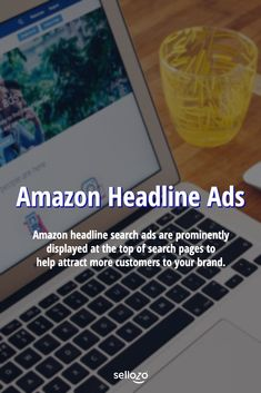 Amazon headline search ads are prominently displayed at the top of search pages to help attract more customers to your brand. Search Page, Amazon Seller, Amazon Fba, Attraction, Ads, Things To Sell