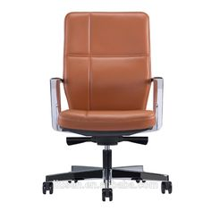 Best quality big discount executive swivel brown leather office chair