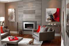 Penelope Rogers / P.Rogers Design - contemporary living room