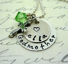 Hey, I found this really awesome Etsy listing at http://www.etsy.com/listing/158050025/godmother-godchild-hand-stamped-sterling
