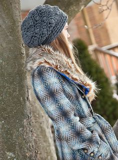 Gift Ideas for Teen Girls and Women  Slouchy Beanie Dark Grey Chunky Gray Crochet Hat by foreverandrea, $40.00  Super soft and comfortable.