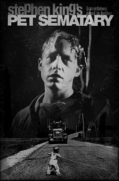 Fan Made Movies Posters & Drawings: Photo Horror Movie Posters, Cinema Posters, Movie Poster Art, Fan Poster, Film Posters, Pet Sematary, Scary Movies, Good Movies, Terror Movies