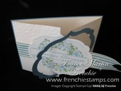 Apothecary Art Framelits Gated Card by France Martin - Cards and Paper Crafts at Splitcoaststampers